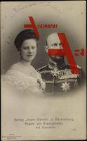 Herzog Johann Albrecht zu Mecklenburg Schwerin, Stolberg Roßla