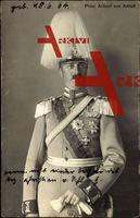 Prinz Aribert von Anhalt, Uniform, Helm, Orden, Abzeichen