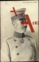 Prinz Aribert von Anhalt, Uniform, Schirmmütze, Orden