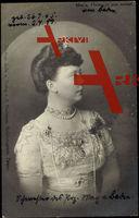 Herzogin Marie von Anhalt, Portrait, Schmuck, Haarspange