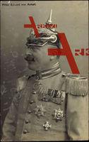 Prinz Eduard von Anhalt, Portrait, Uniform, Pickelhaube, Orden, Abzeichen
