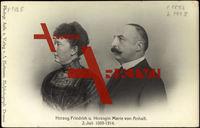 Herzog Friedrich und Herzogin Marie von Anhalt, 2 Juli 1889 bis 1914