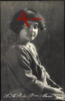 Prinzessin Maria Francesca von Italien als kleines Mädchen
