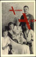 Prinz Christian von Sachsen, Helene von Thurn u. Taxis, Kinder