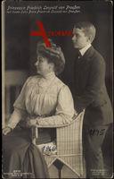 Prinzessin Friedrich Leopold von Preußen mit ihrem Sohn, Liersch 2372