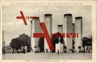 Paris, Weltausstellung 1925, Porte de la Concorde