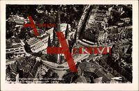 Berlin, Fliegeraufnahme von Kaiser Wilhelm Gedächtniskirche,Budapester Str.