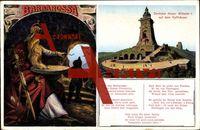 Steinthaleben, Kyffhäuser Denkmal, König Barbarossa