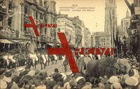 Antwerpen, Juweelenstoet, Cortège des Bijoux, Volksfest, Elefant, 1923