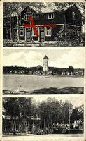 Großdubrau, Vereinsheim des Arbeiter Turm Sportvereins, Vorwärts, Fußball
