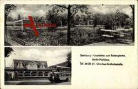 Berlin Lichtenberg Malchow, Stahlbergs Gaststätte zum Rosengarten, Omnibus