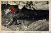 Bad Segeberg, Barbarossa Halle in der Höhle im Kalkberb