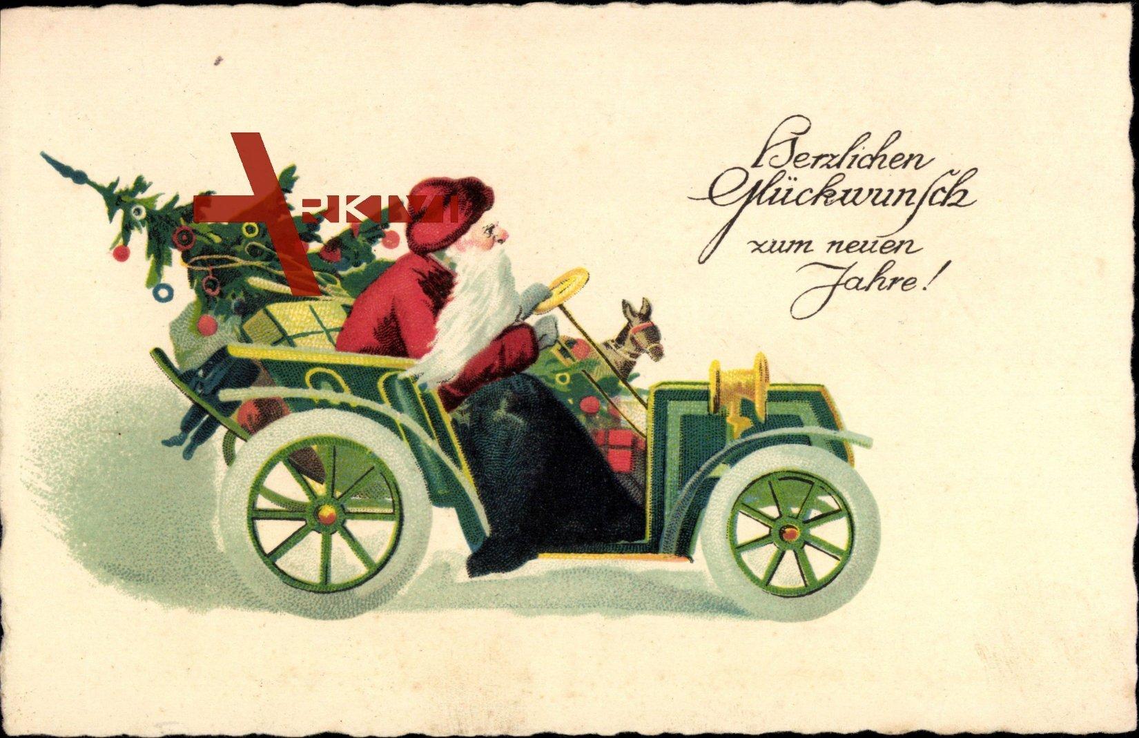 frohe weihnachten weihnachtsmann auto geschenke xl. Black Bedroom Furniture Sets. Home Design Ideas