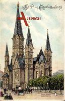 ein Gruß aus Berlin Charlottenburg - Die Kaiser Wilhelm Gedächtniskirche
