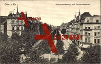 Köln am Rhein, Hohenstaufenring mit Barbarossaplatz