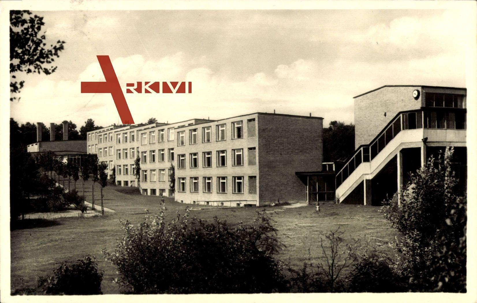 Bernau Barnim, Blick auf die Wohnhäuser, Bauhaus