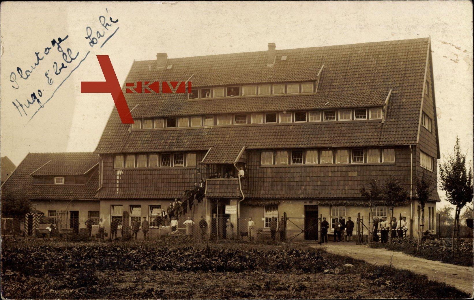 Hannover Lahe, Spargel Plantage, Hugo Ebell, Passanten