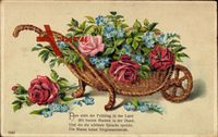 Nun zieht der Frühling in das Land, Kitsch, Rosen