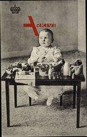 Königin Juliana als Kind, Spielzeug, Adel Niederlande