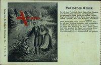 Lied Verlornes Glück, So oft der Frühling durch das off'ne Fenster...