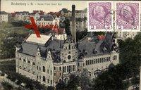 Reichenberg, Blick auf das Kaiser Franz Josef Bad