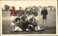Fußballverein, Gruppenfoto, Fußballspieler, Postsportverein