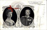 Eitel Friedrich Prinz von Preussen, Prinzessin Sophie Charlotte zu Oldenburg