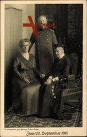 Großherzog Friedrich II. von Baden, Mutter Luise von Preußen,Hilda von Nassau