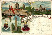 Dortmund Syburg, Hohensyburg, Burgritter, Turm, Barbarossa