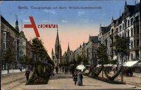 Berlin Charlottenburg, Tauentzienstraße, Kaiser Wilhelm Gedächtniskirche