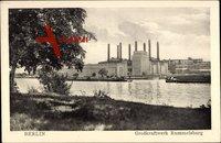 Berlin Lichtenberg Rummelsburg, Großkraftwerk mit Kanalpartie