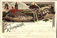 Bad Frankenhausen, Reiter Standbild, Kyffhäuser Denkmal, Barbarossa Saal