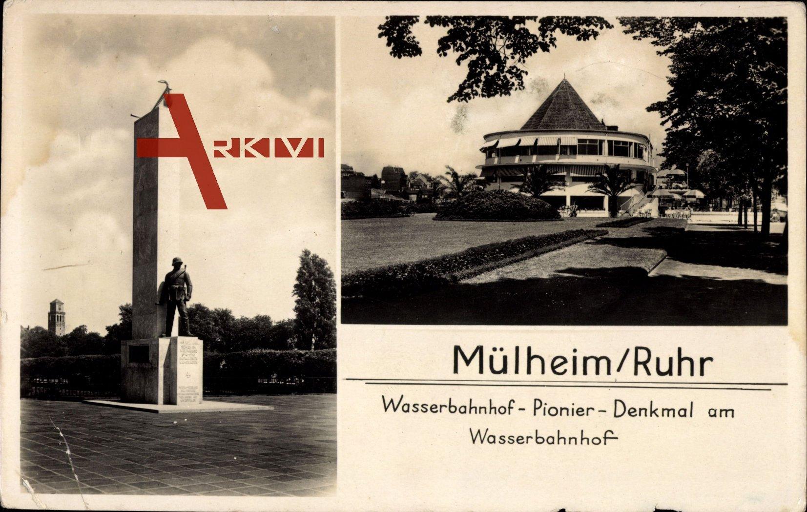 Mülheim a.d. Ruhr, Pionier Denkmal am Wasserbahnhof