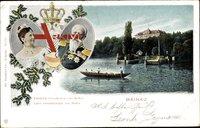 Insel Mainau, Friedrich Grossherzog und Luise Grossherzogin von Baden