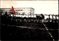 Deutsche Fußballmannschaft, Hitlergruß, Gruppenfoto