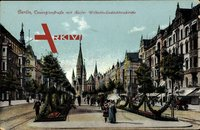 Berlin Charlottenburg, Tauentzienstraße mit Wilhelm Gedächtniskirche