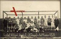 Fußball Wettspiel, Schwaben I., F.A.Telegrafen Amt München, 01 V. 1921
