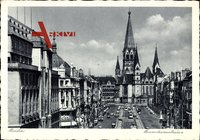 Berlin Charlottenburg, Die Gedächtniskirche in der Tauentzienstraße