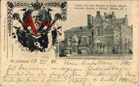 St. Johann Saarbrücken, Kasino d. Ulan Regts.,Großherzog Friedrich von Baden