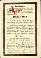 Danksagung, Status Quo, Saarland, Propaganda, Saarabstimmung 1935