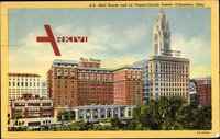 Columbus Ohio, Neil House and Le Veque Lincoln Tower
