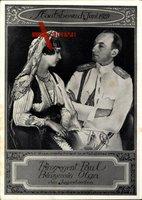 Staatsbesuch Juni 1939, Prinzregent Paul von Jugoslawien, Prinzessin Olga