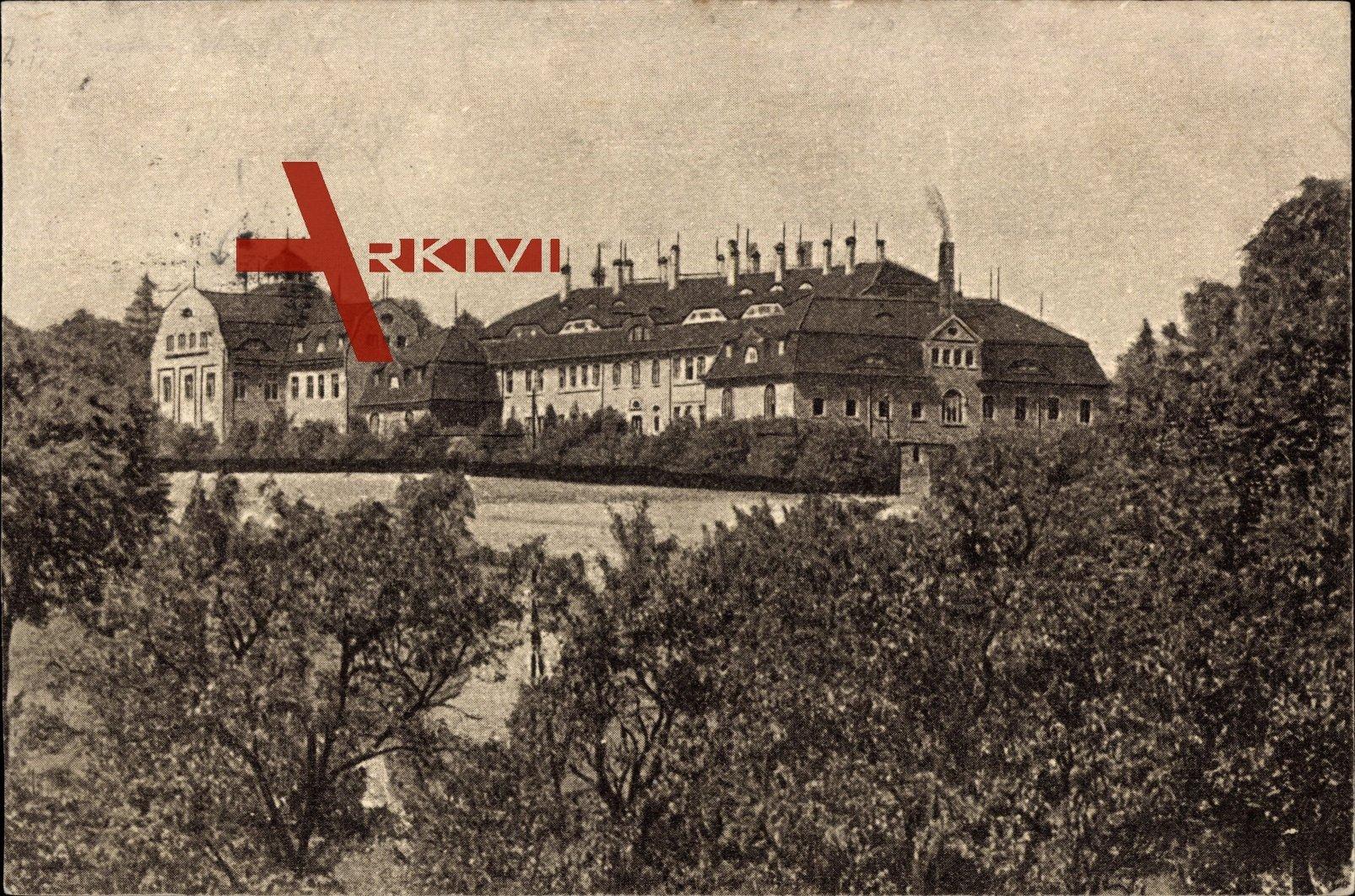 Zwickau Sachsen, Blick auf das Krüppelheim, Außenansicht