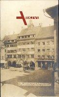 Konstanz am Bodensee, Obermarkt und Hotel Barbarossa