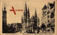 Berlin Charlottenburg, Kurfürstendamm, Kaiser Wilhelm Gedächtniskirche