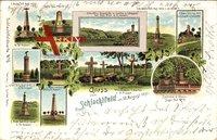 Gravelotte Moselle, Schlachtfeld 1870, Denkmäler