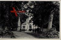 Wilster Schleswig Holstein, Partie beim Kriegerdenkmal 1870 - 71