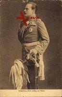 Großherzog Ernst Ludwig von Hessen Darmstadt, Uniform