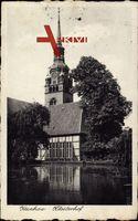 Itzehoe Kreis Steinburg, Blick vom Wasser auf den Klosterhof