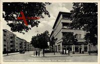 Berlin Lichtenberg Friedrichsfelde, Fürst Hohenlohe Straße Ecke Miquel Str.